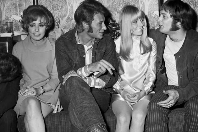 France Gall et Johnny Hallyday
