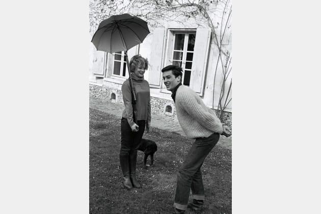 Taquin avec Romy Schneider