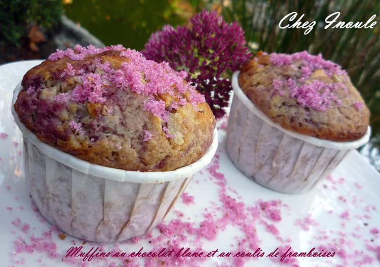 Recette De Muffins Roses Au Chocolat Blanc Et Aux Framboises La