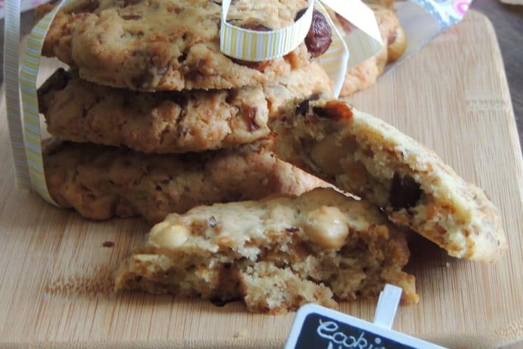 Cookies aux noisettes et crêpes dentelles