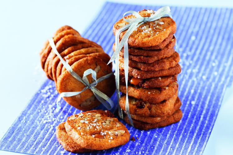 Biscuits aux pépites de caramel et à la Fleur de Sel de Guérande Le Guérandais