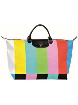 Sac Le Longchamp Multicolore Pliage De K1lFc3TJ
