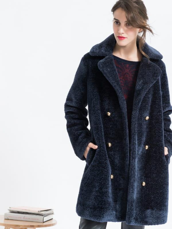 Mon joli manteau d hiver Caroll. Manteau