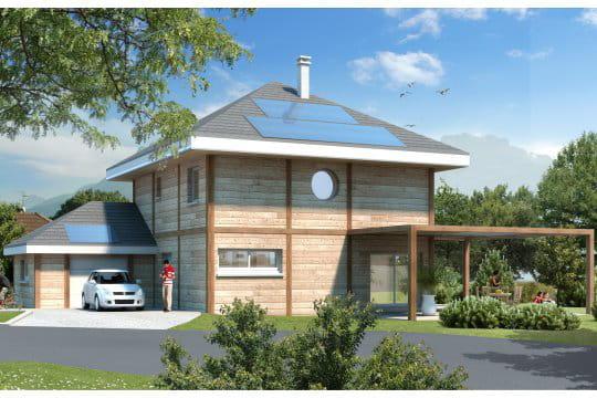 Mdaille De Bronze Maison  Energie Positive Feu