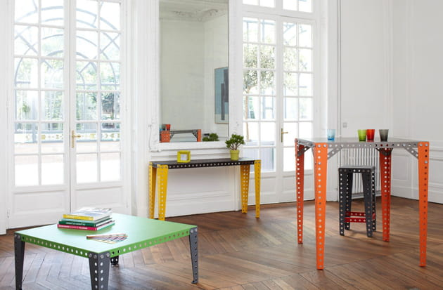 tables meccano home couleurs