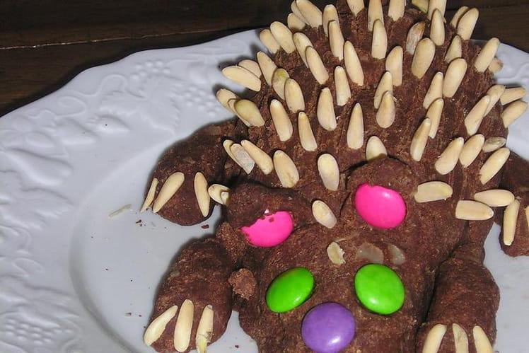 Gâteau au chocolat sans cuisson avec boudoirs