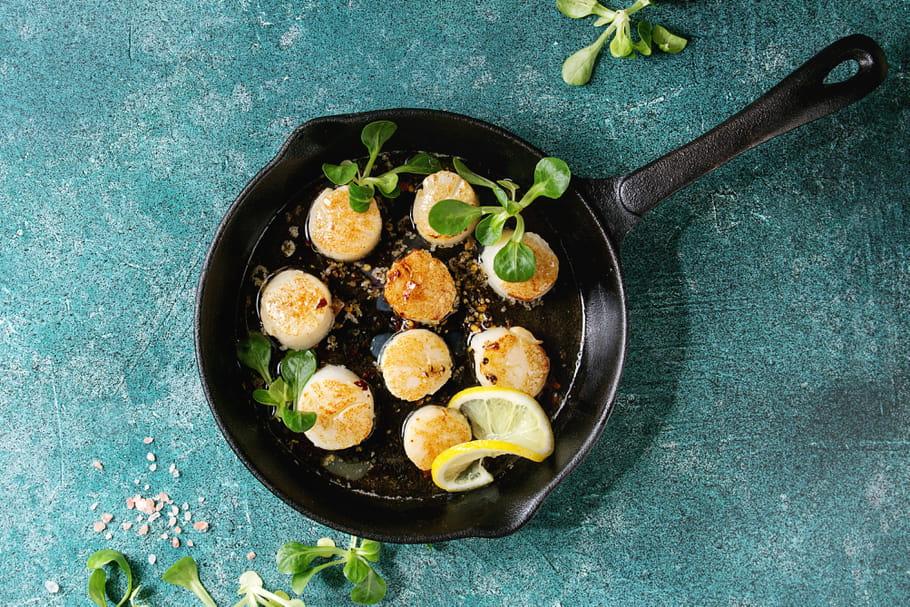 Quelle cuisson pour les coquilles Saint-Jacques?