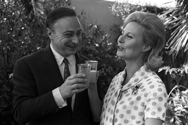 Avec Gérard Oury, 1961