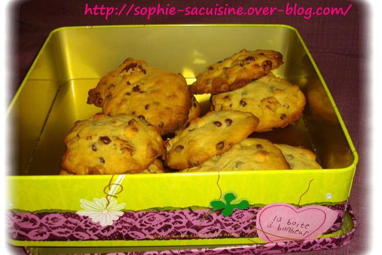 Cookies au chocolat, au caramel et aux noix de pécan
