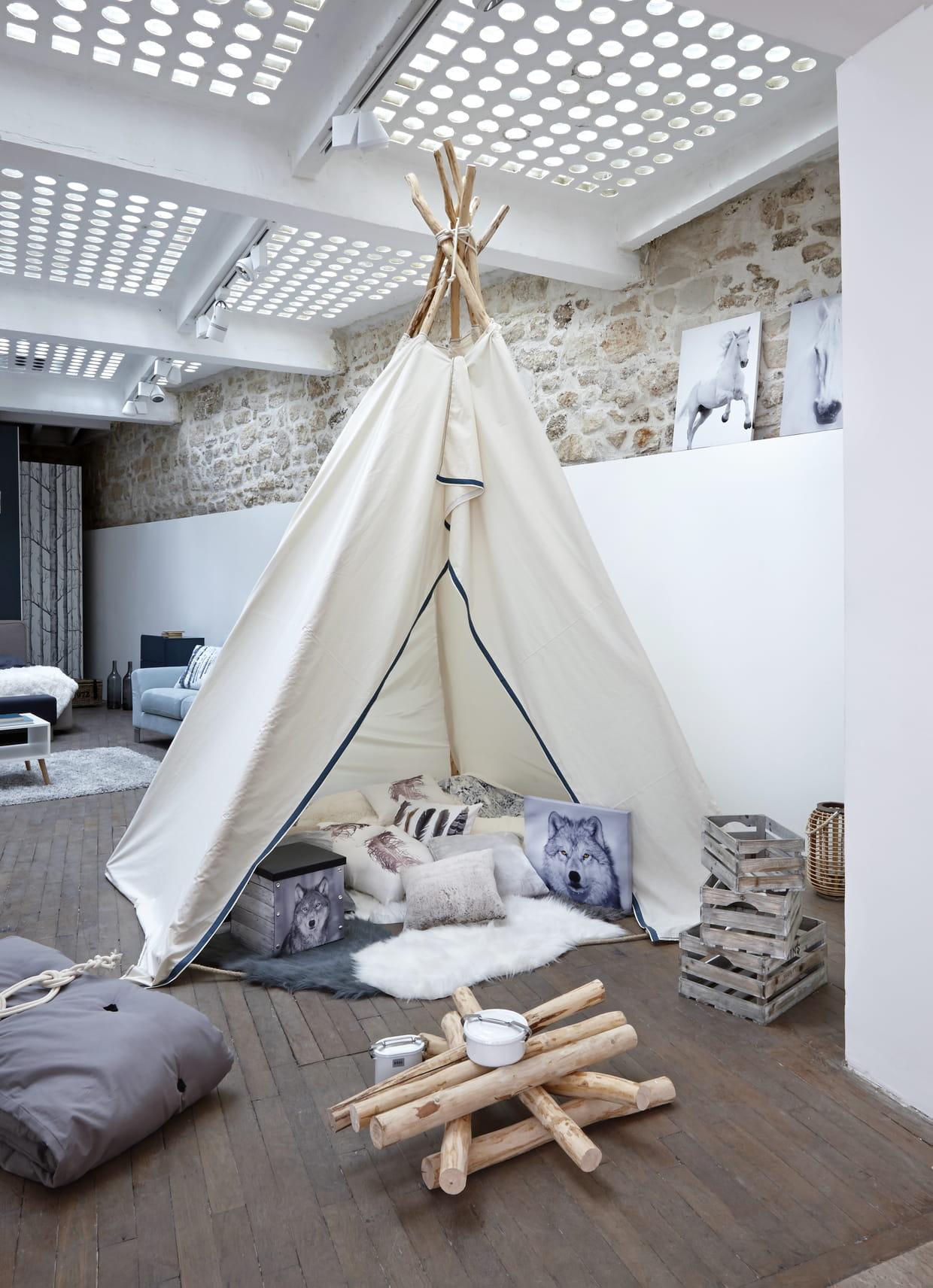 tipi cosy but. Black Bedroom Furniture Sets. Home Design Ideas