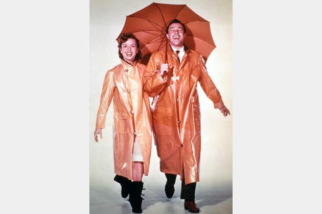 """Avec Gene Kelly dans """"Chantons sous la pluie"""""""