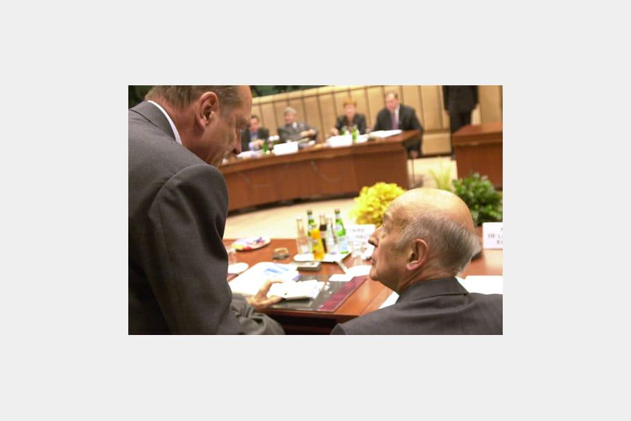 Jacques Chirac au Conseil constitutionnel