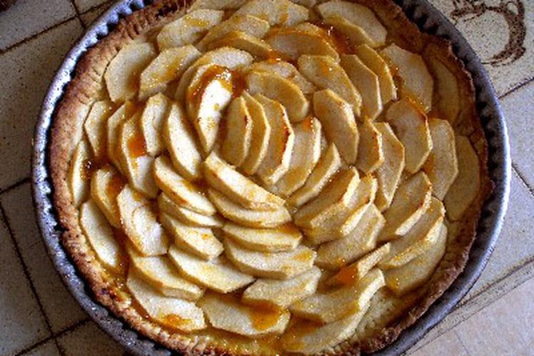 Tarte aux pommes pâte au fromage blanc