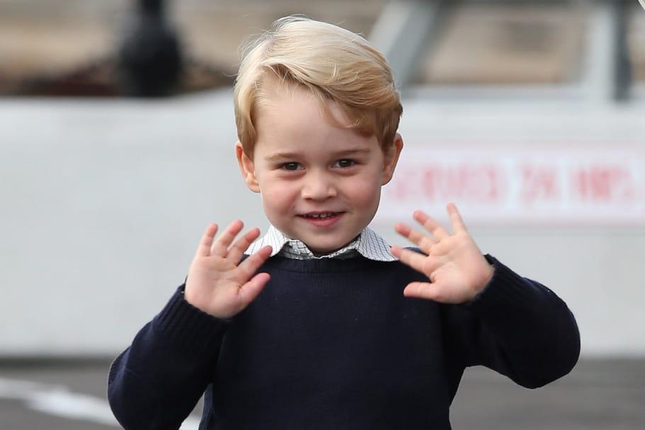 Le Prince George, bientôt dans un épisode de Sam le Pompier