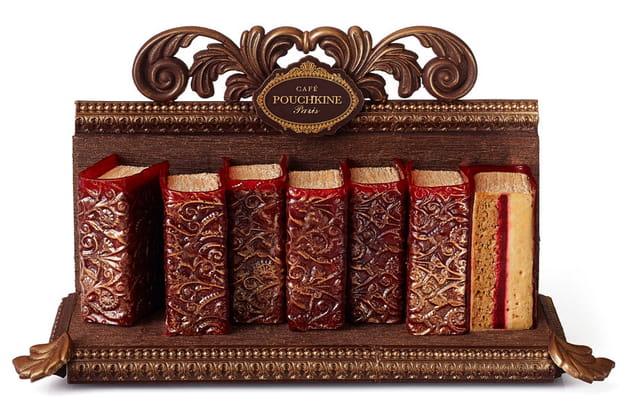 La Bibliothèque Pouchkine du Café Pouchkine