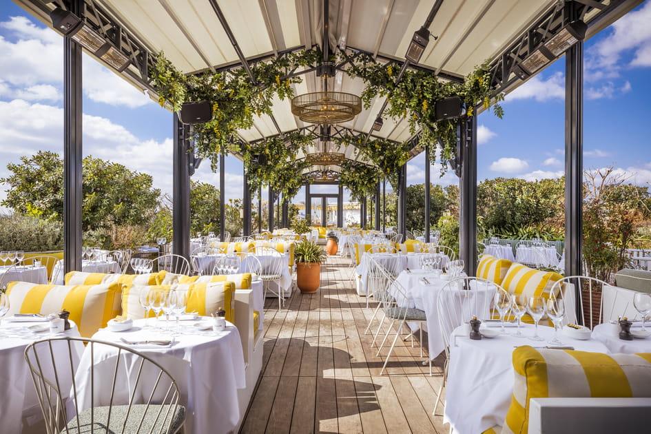 Les terrasses déco des hôtels et restaurants nous inspirent, et vous?
