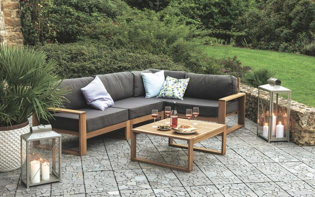 salon de jardin flip truffaut. Black Bedroom Furniture Sets. Home Design Ideas