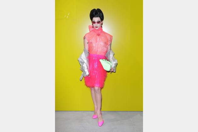 Violet Chachki au défilé Prada