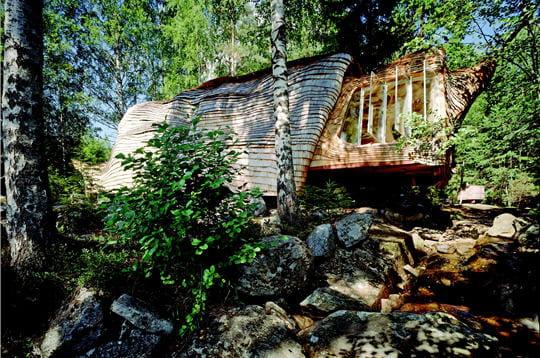 Maison sur le lac Övre Gla