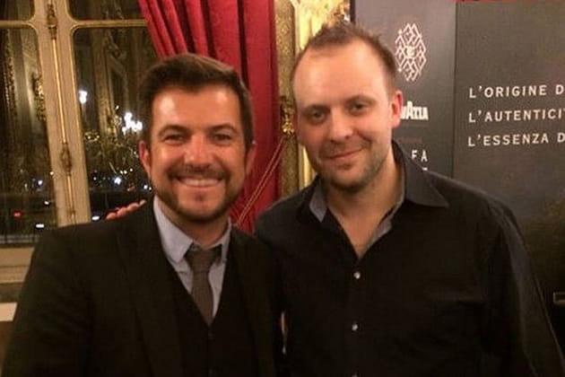Eric Guérin et David Toutain, la tête dans les étoiles