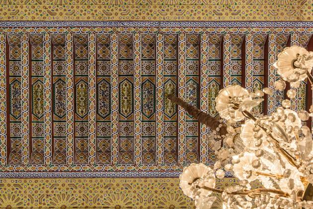 Un palais décoré de la tête aux pieds