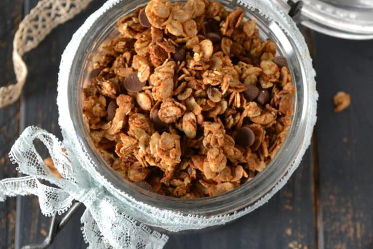Granola châtaigne-cannelle