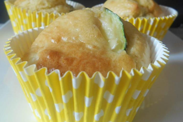Muffins aux courgettes et fromage de chèvre