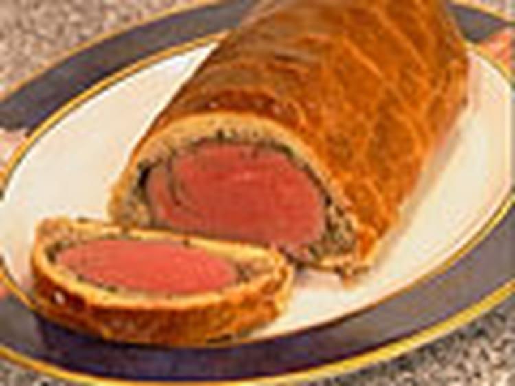 Recette de filet de boeuf en cro te sauce foie gras la - Cuisiner le foie de boeuf ...