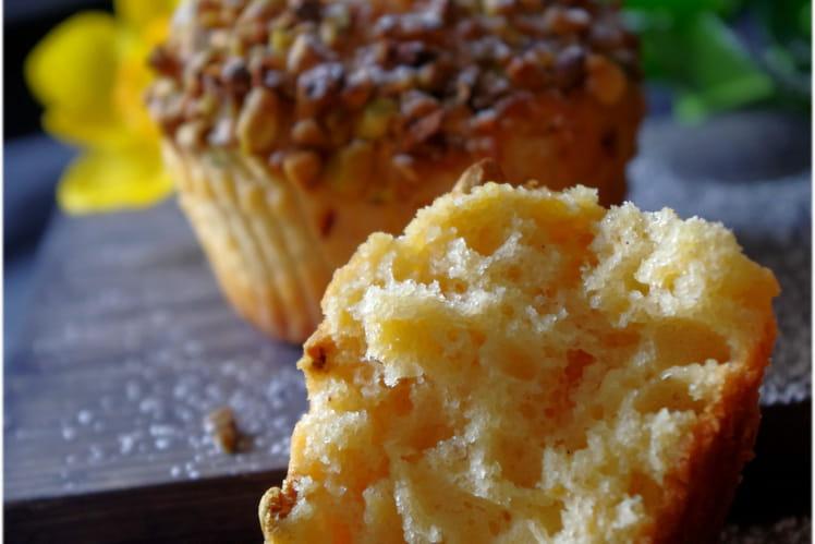 Muffin à la compote d'abricot