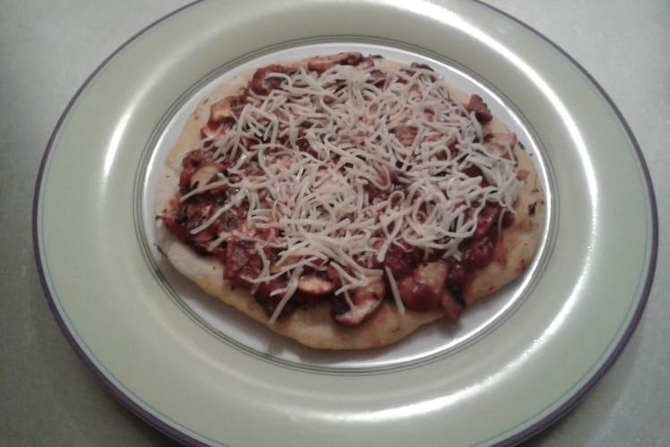 Pizza express à la poêle
