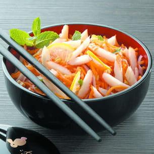 salade acidulée surimi-cacahuète