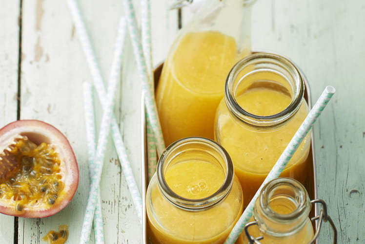 Jus mangue, passion et ananas