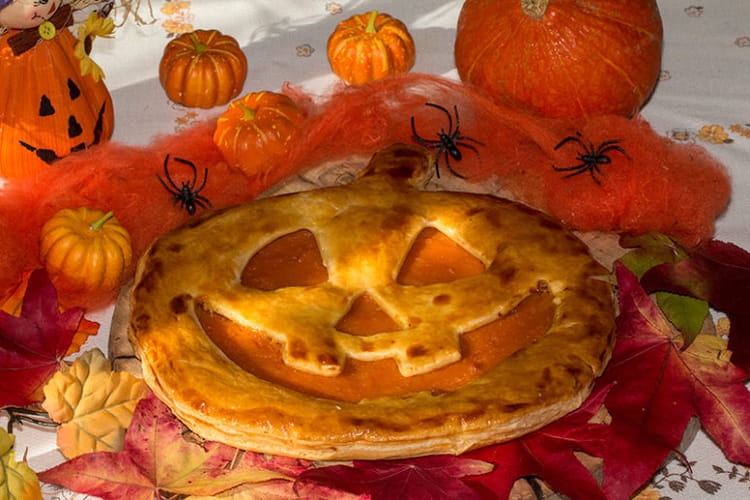 Pumpkin Pie en forme de citrouille