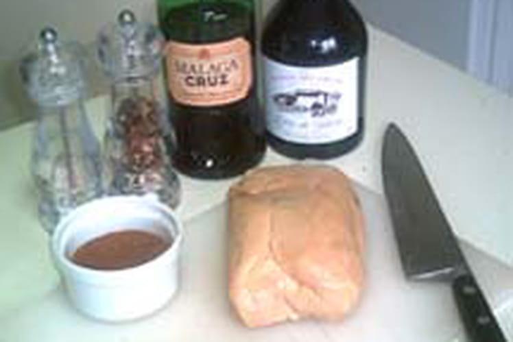 Foie gras au vin d'épices