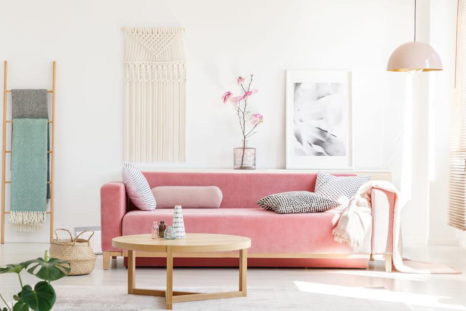 La couleur rose en déco: nuances et associations de couleurs
