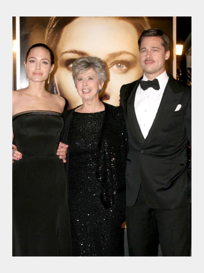 Brad Pitt et sa mère Jane Pitt