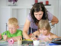 il faut être très disponible pour l'instruction en famille.