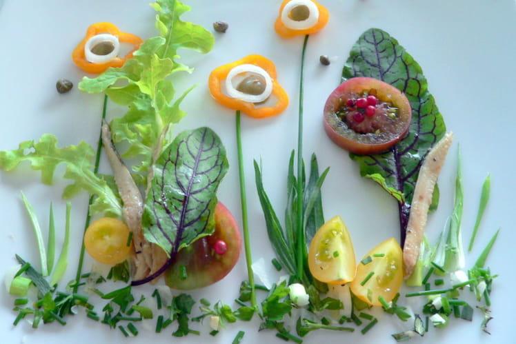 Petite salade des beaux jours