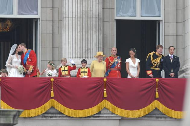 Le baiser sur le balcon de Buckingham Palace