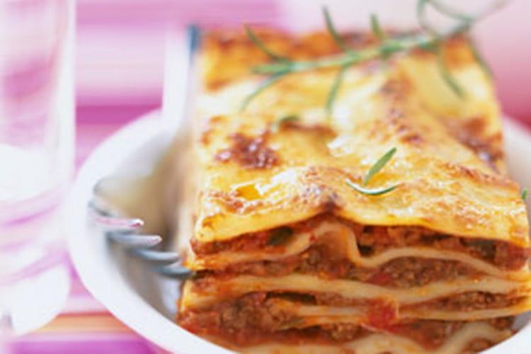 Lasagne Bolognaise à l'échine de porc et au boeuf haché