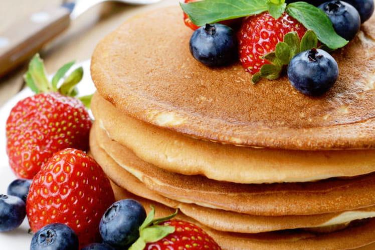 Pancakes fondants et moelleux