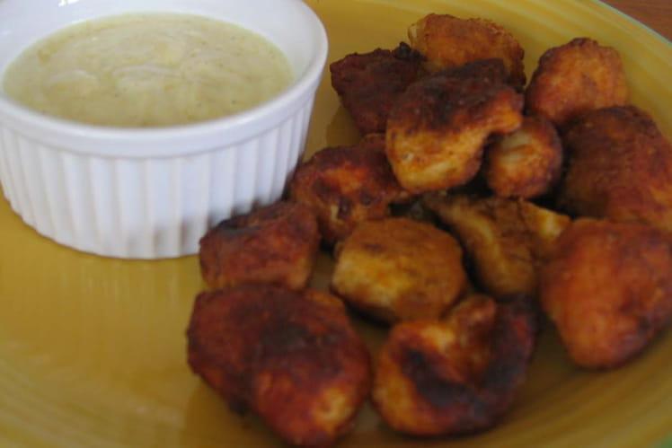 Nuggets de poulet express et sauce curry