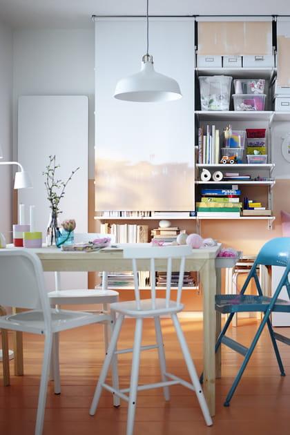 Suspension Ranarp blanc cassé d'IKEA