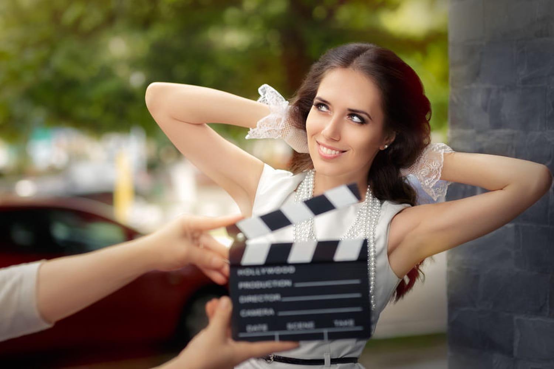 Une thème de mariage cinéma, digne d'Hollywood