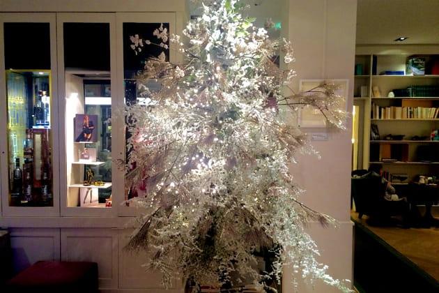 Le sapin de Noël de l'Hôtel Bel Ami