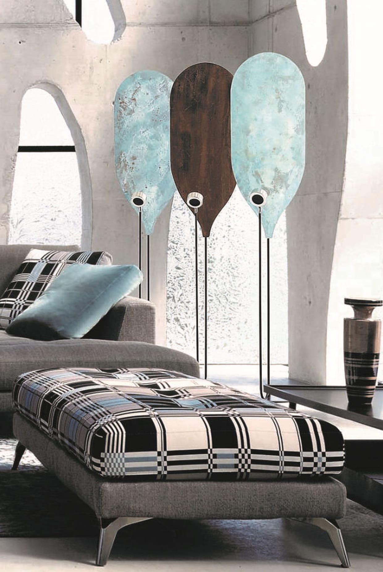 lampadaire robin par carlo zerbaro chez roche bobois. Black Bedroom Furniture Sets. Home Design Ideas