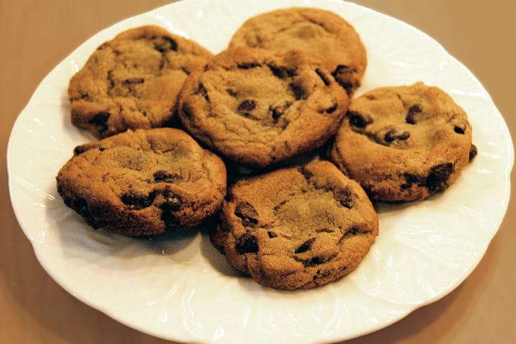 Cookies fondants aux pépites de chocolats