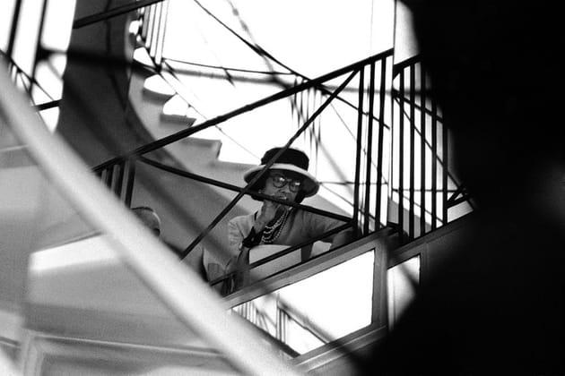 L'escalier du 31rue Cambon à l'époque de Gabrielle Chanel