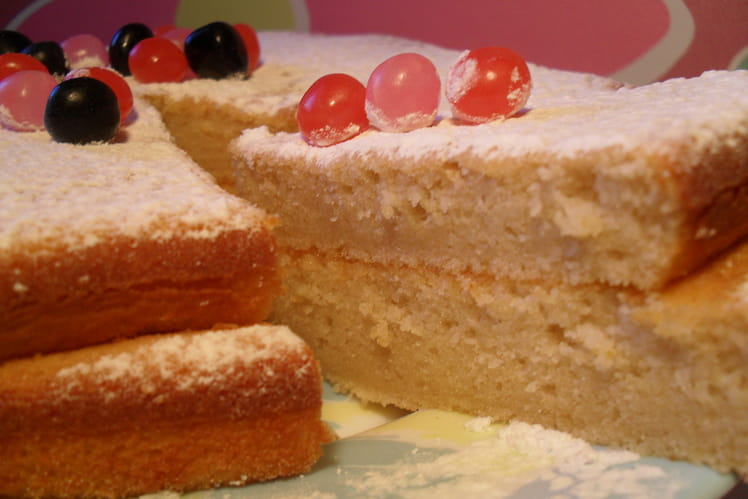 Gâteau au chocolat blanc et petits-suisses