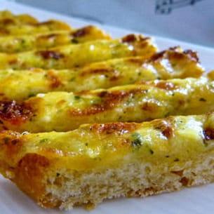 pain ciabatta aux fromages gratinés